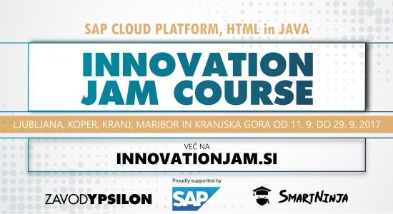 """Nauči se programiranja z """"Innovation Jam Course"""""""