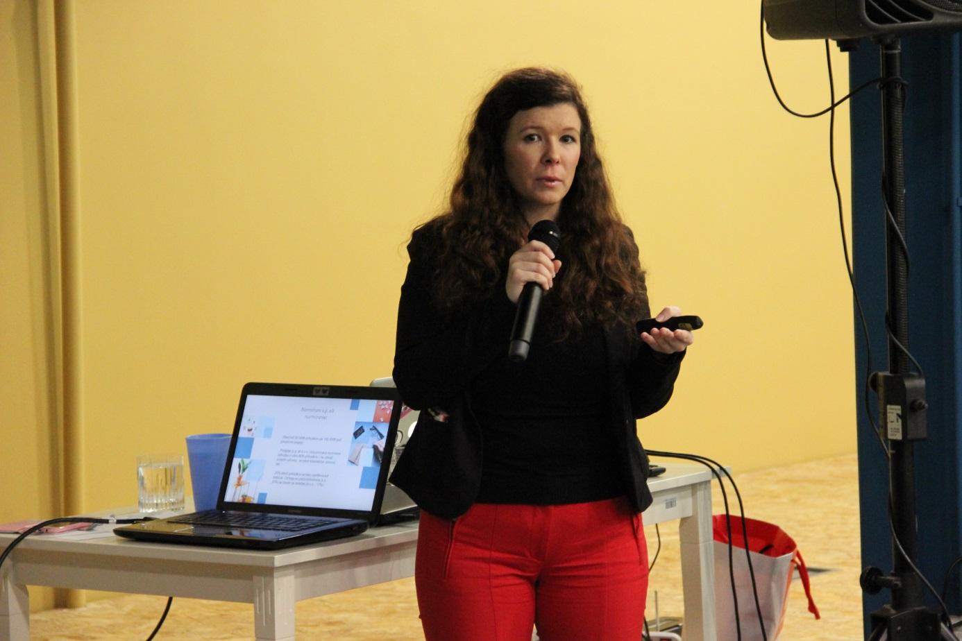 Slika 6: Nika Močnik, Acceleration Business City HUB