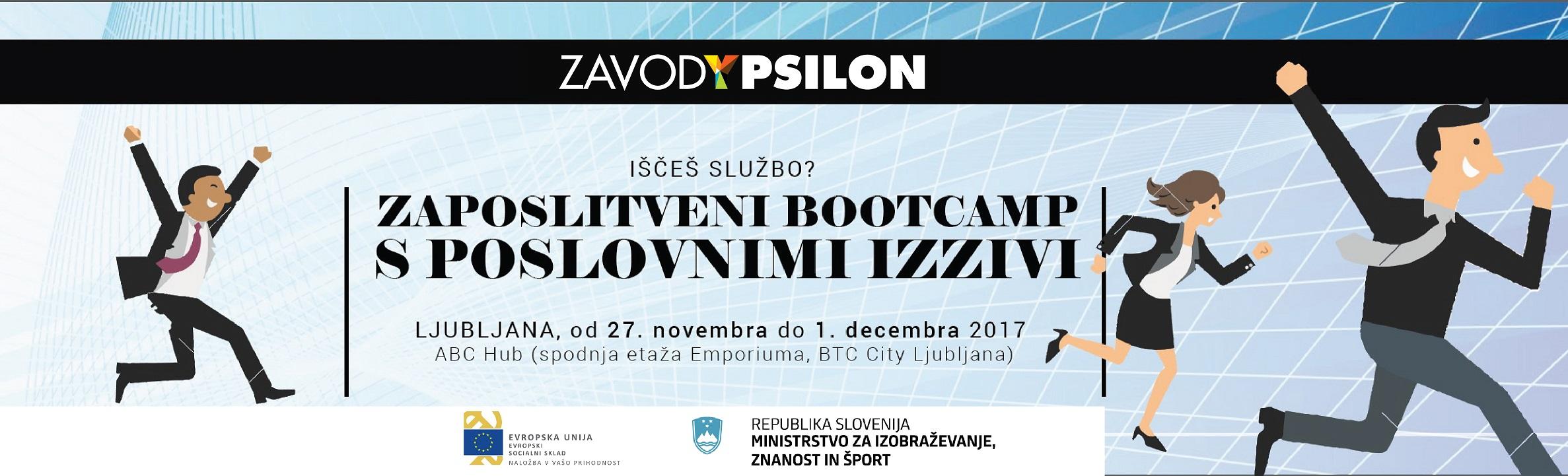 zaposlitenibootcamp Ljubljana Maribor Celje MWY 2017