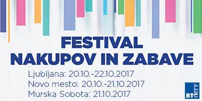festival nakupov in zabave