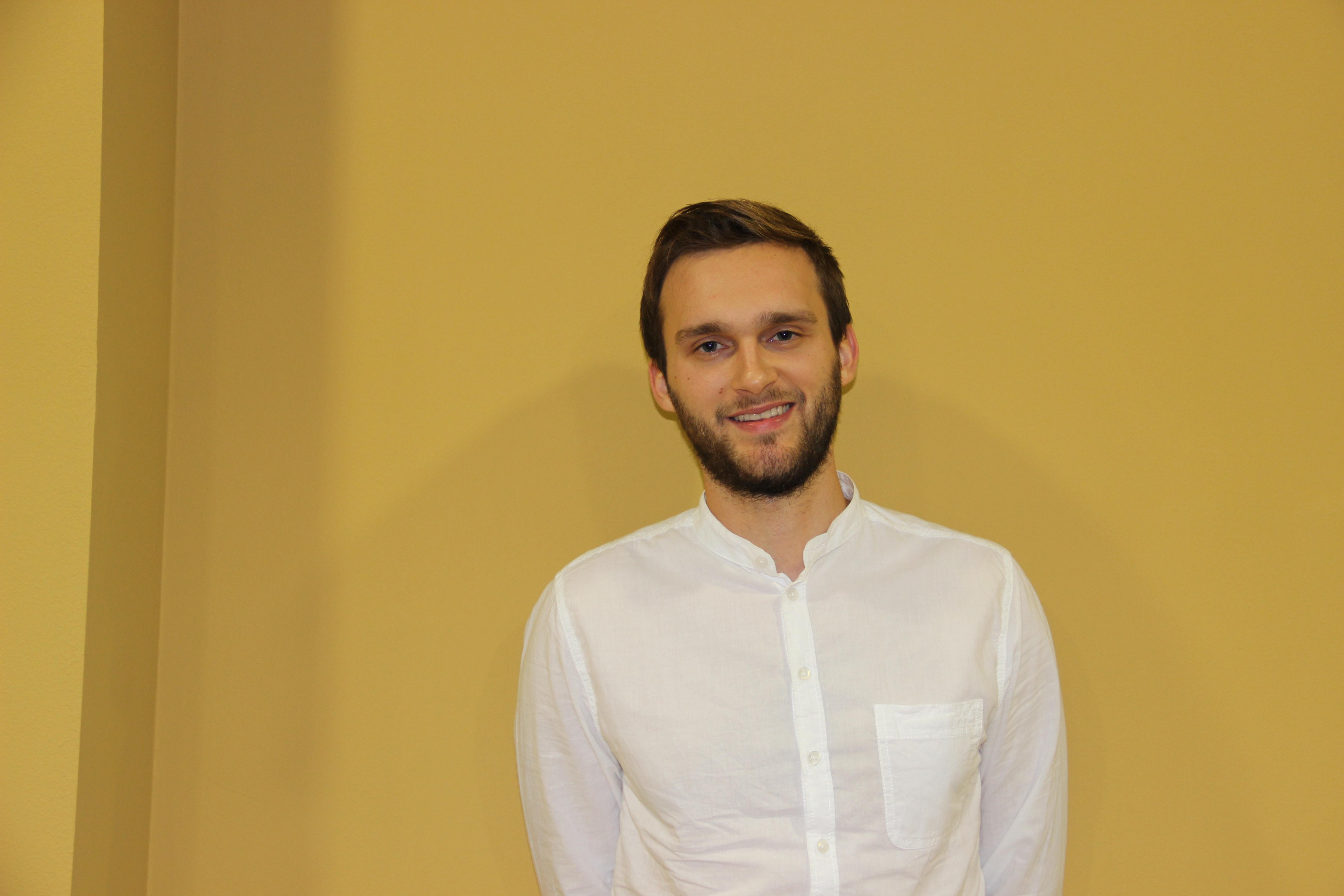 Slika 1: Blažej Kupec, urednik Startaj.si, spletnega portala za start-upe.